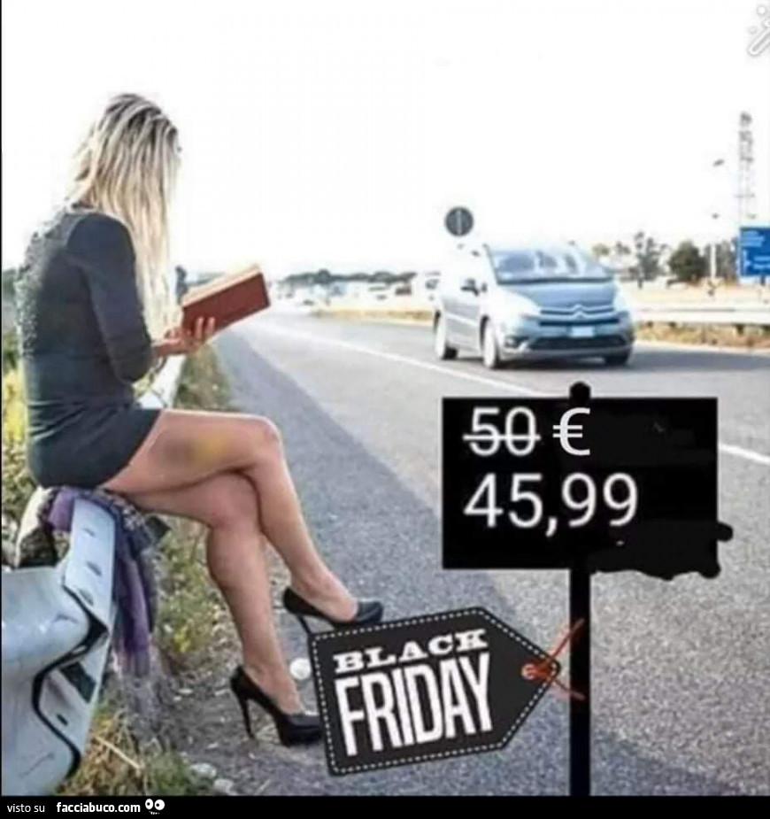 Anche le prostitute fanno il Black Friday - Facciabuco.com