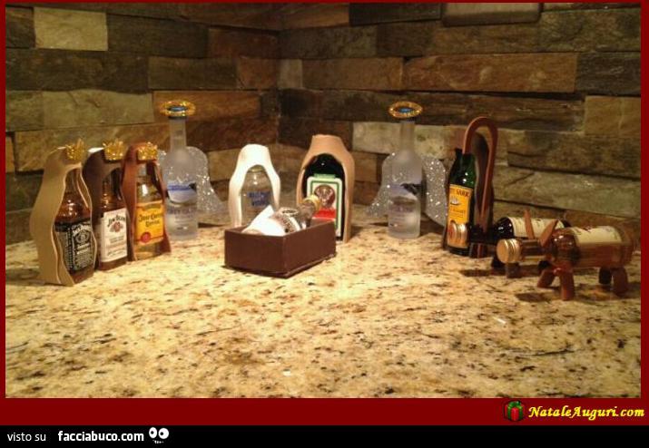 Presepe alcolico - Facciabuco.com